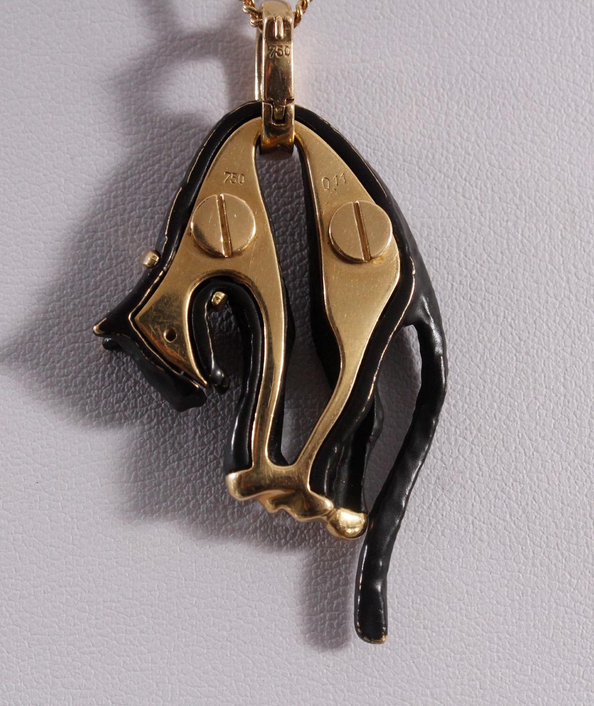 Panther Anhänger nach Cartier-2