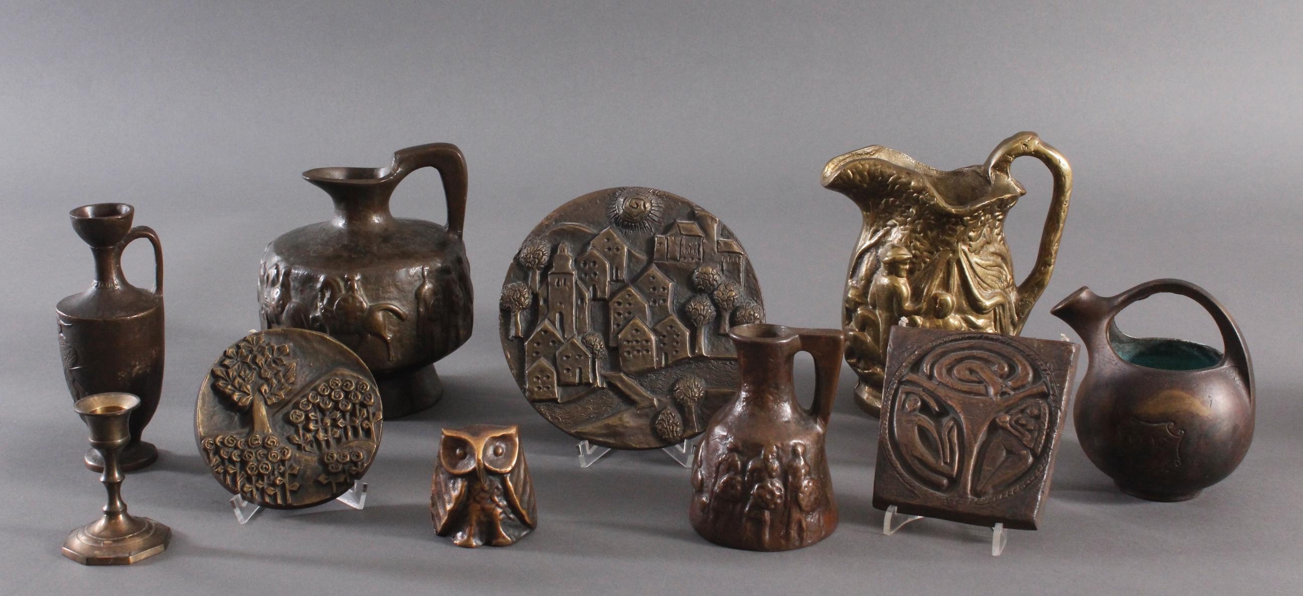 Bronze und Messing Konvolut