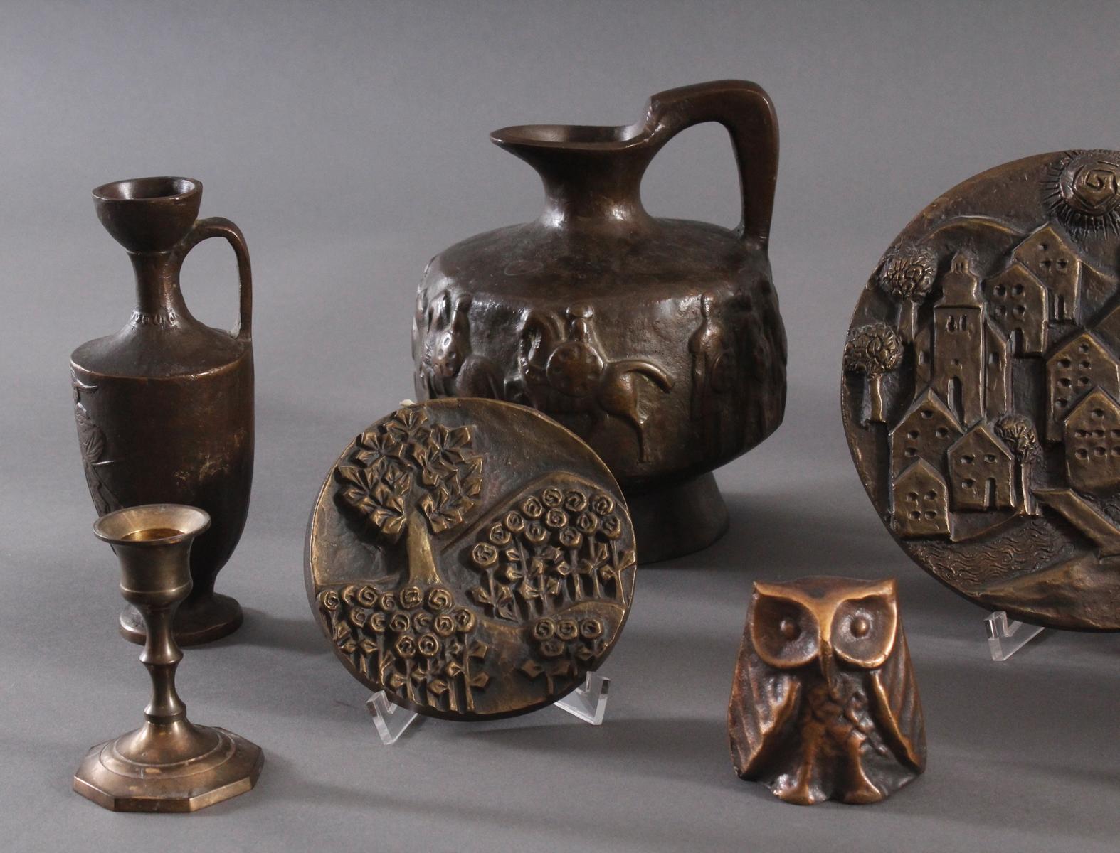 Bronze und Messing Konvolut-2