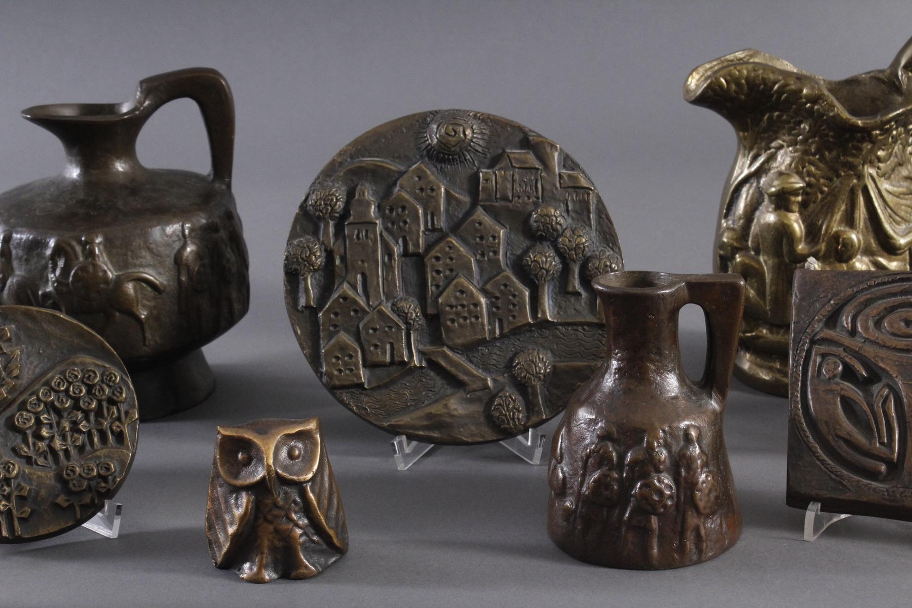 Bronze und Messing Konvolut-3