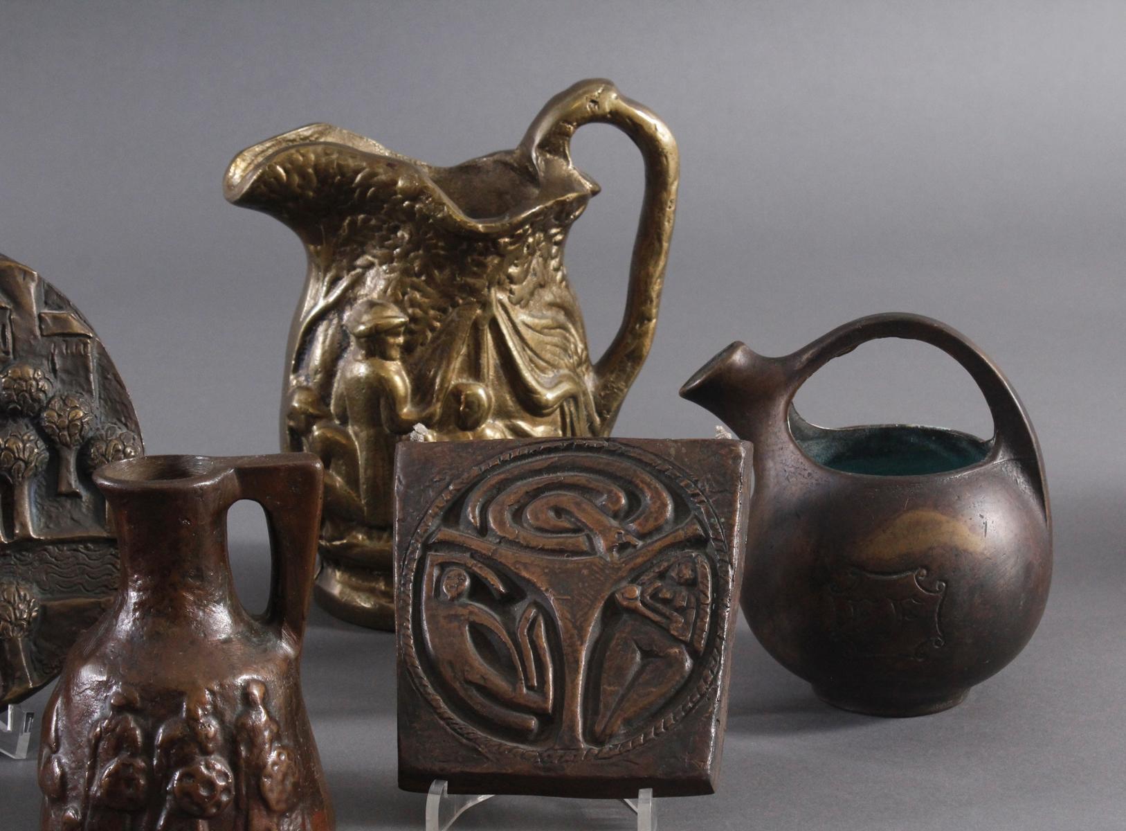 Bronze und Messing Konvolut-4