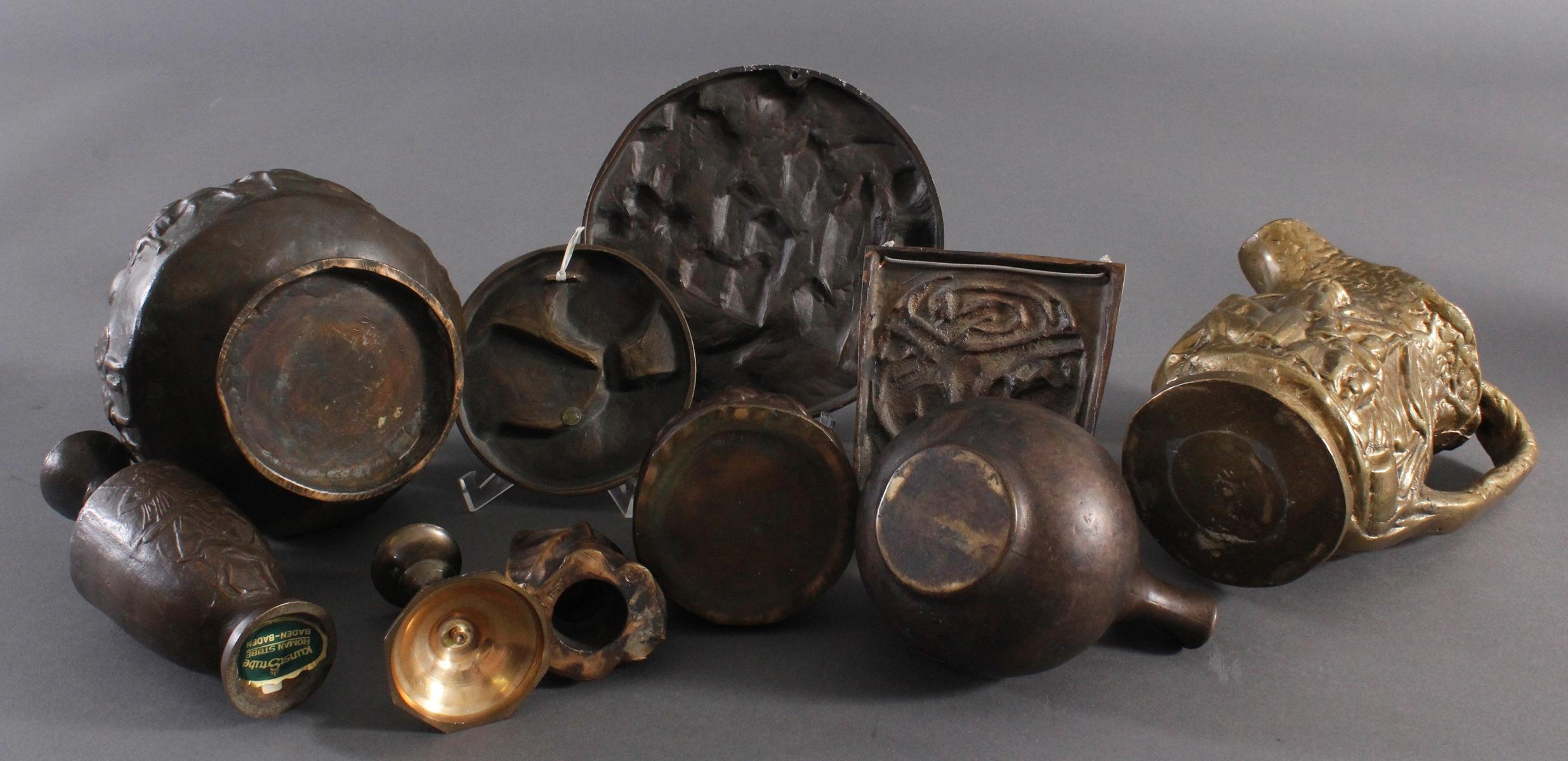 Bronze und Messing Konvolut-5