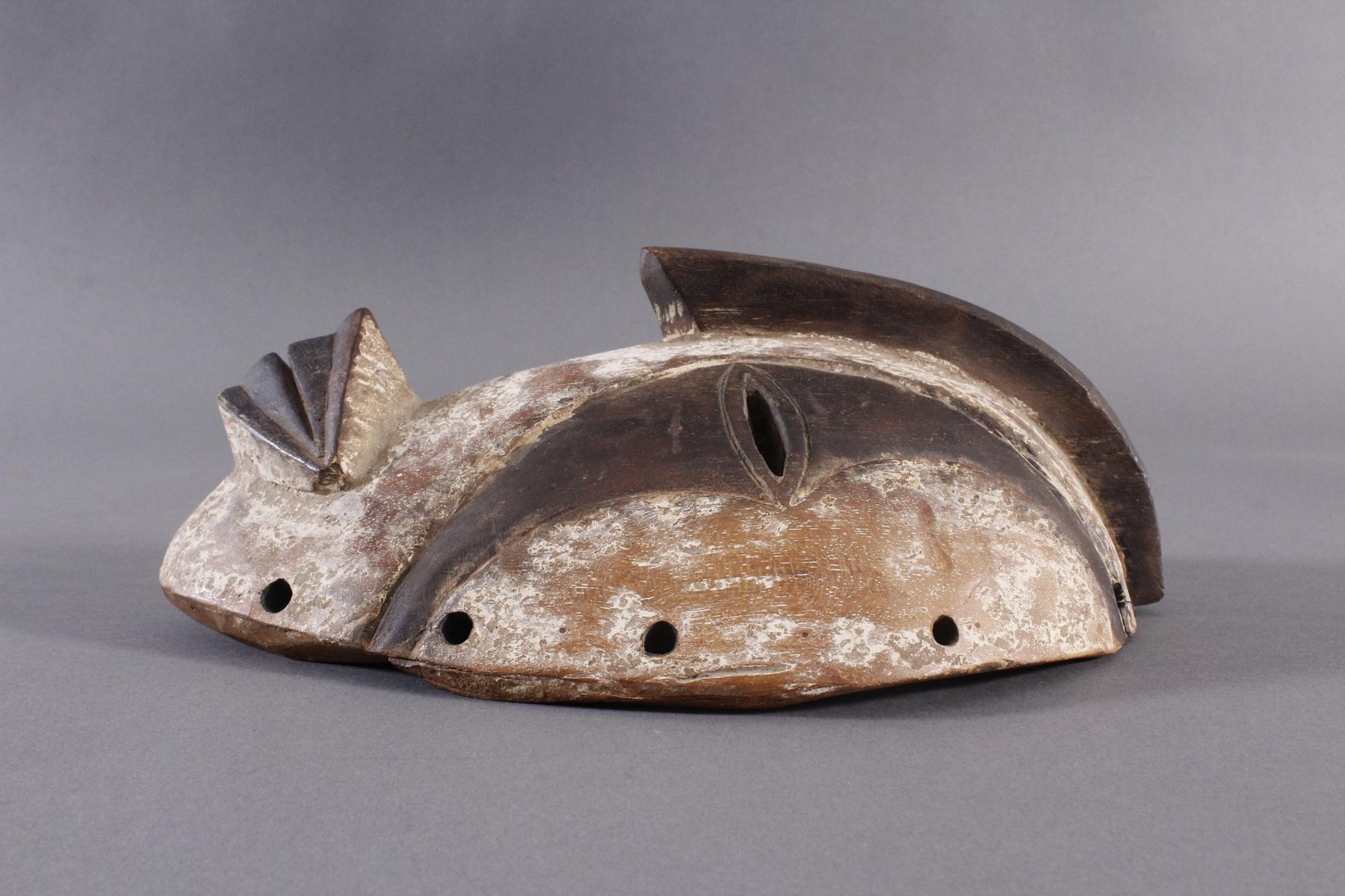 Antike Maske, Gabun 1. Hälfte 20. Jh.-4