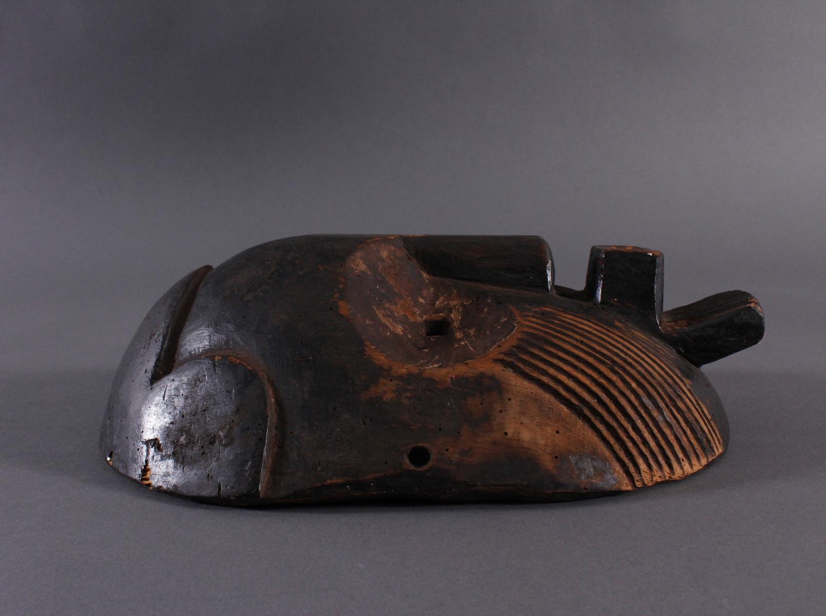 Antike Maske, Zaire/Kongo-3