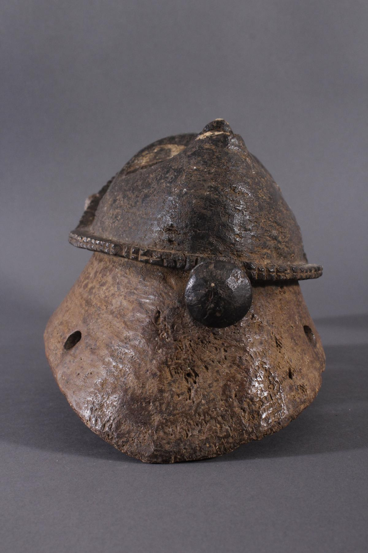 Antike Maske der Baule, Elfenbeinküste 1. Hälfte 20. Jh.-2