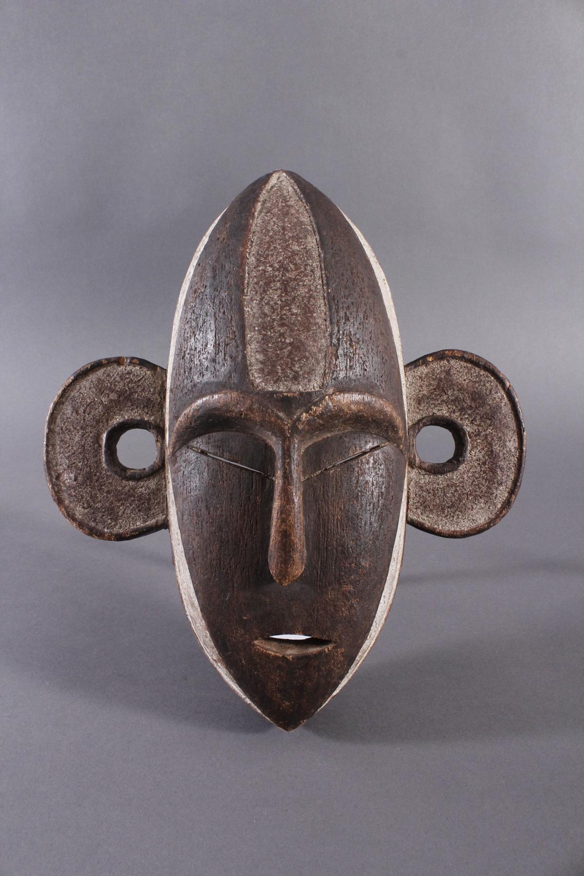Antike Maske, Boa, Kongo