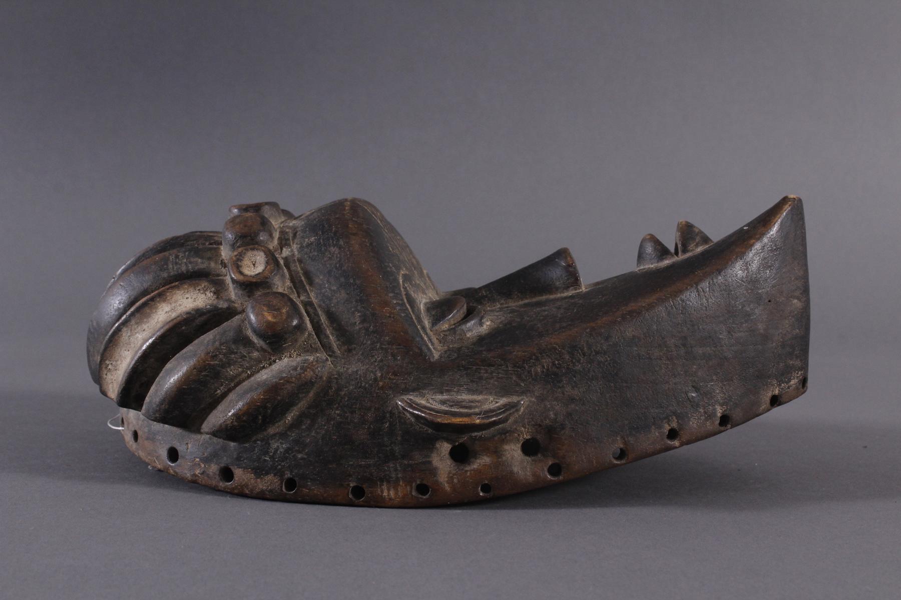 Antike Maske, Bassa, Liberia-2