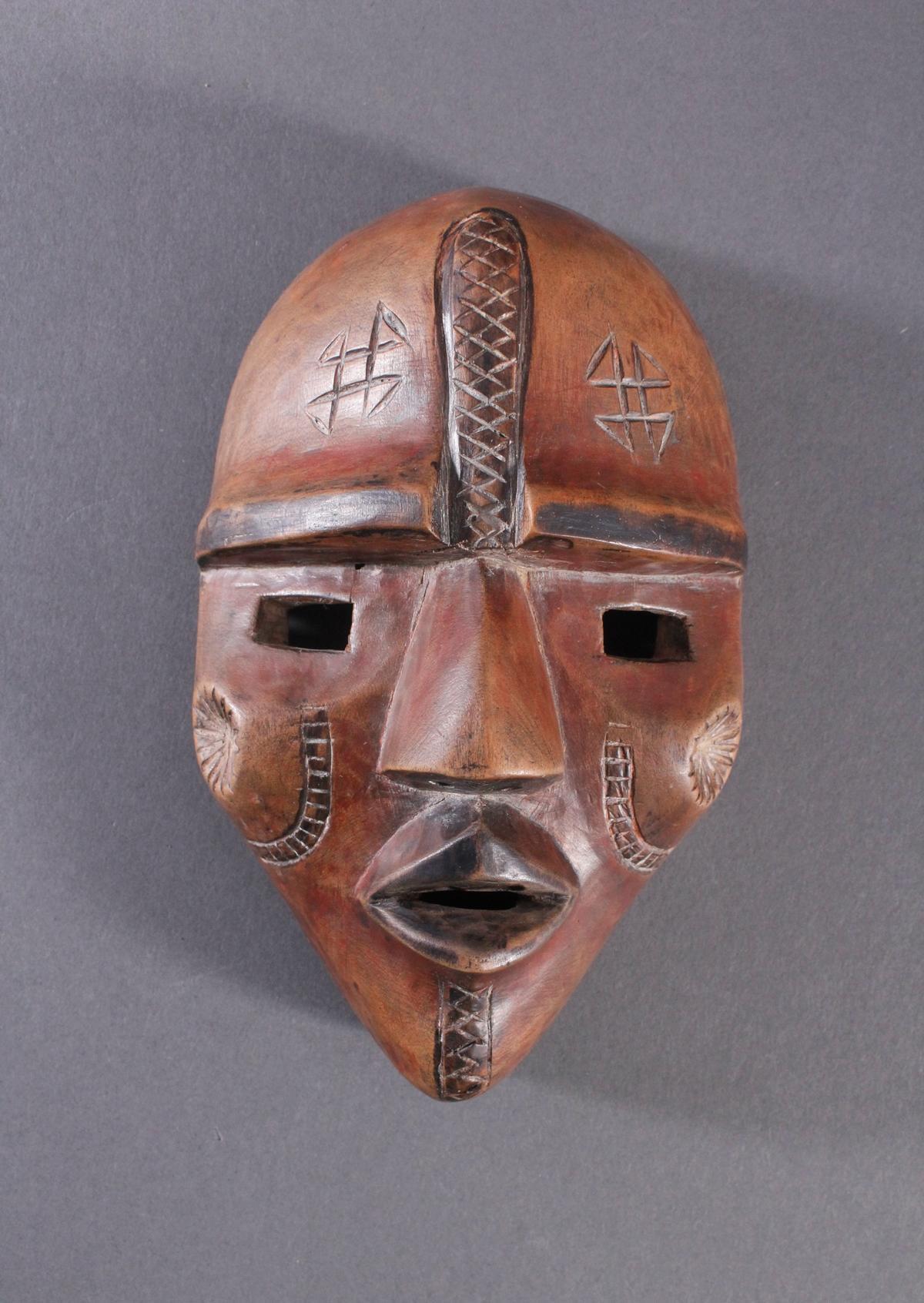Afrikanische Maske, Baule, Elfenbeinküste