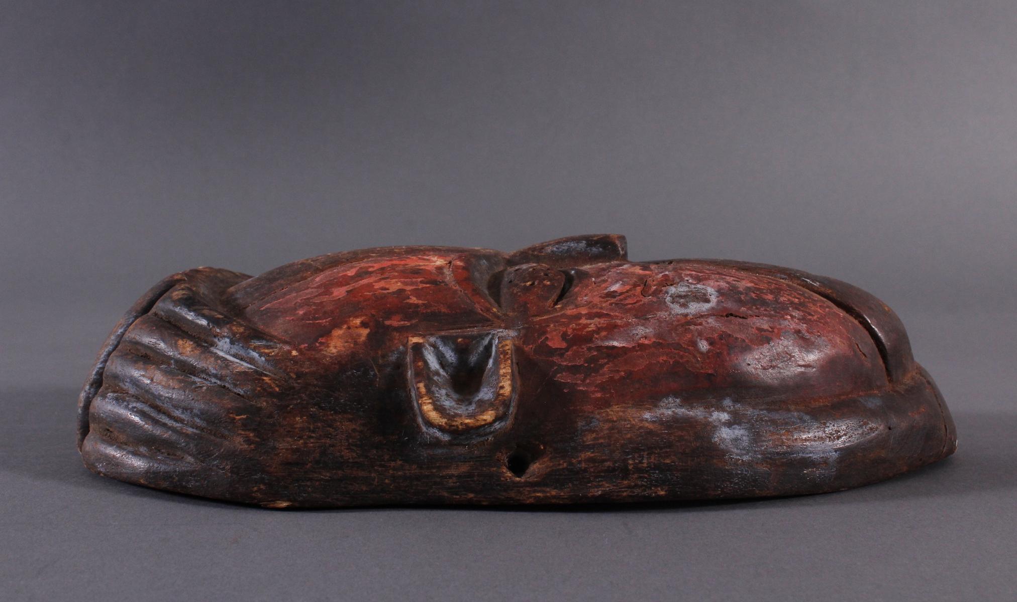 Antike Afrikanische Maske-3