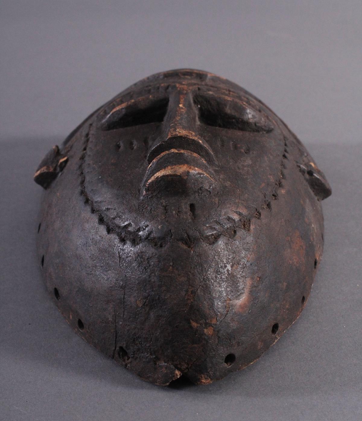 Antike Maske, Kwele-Gabun-5