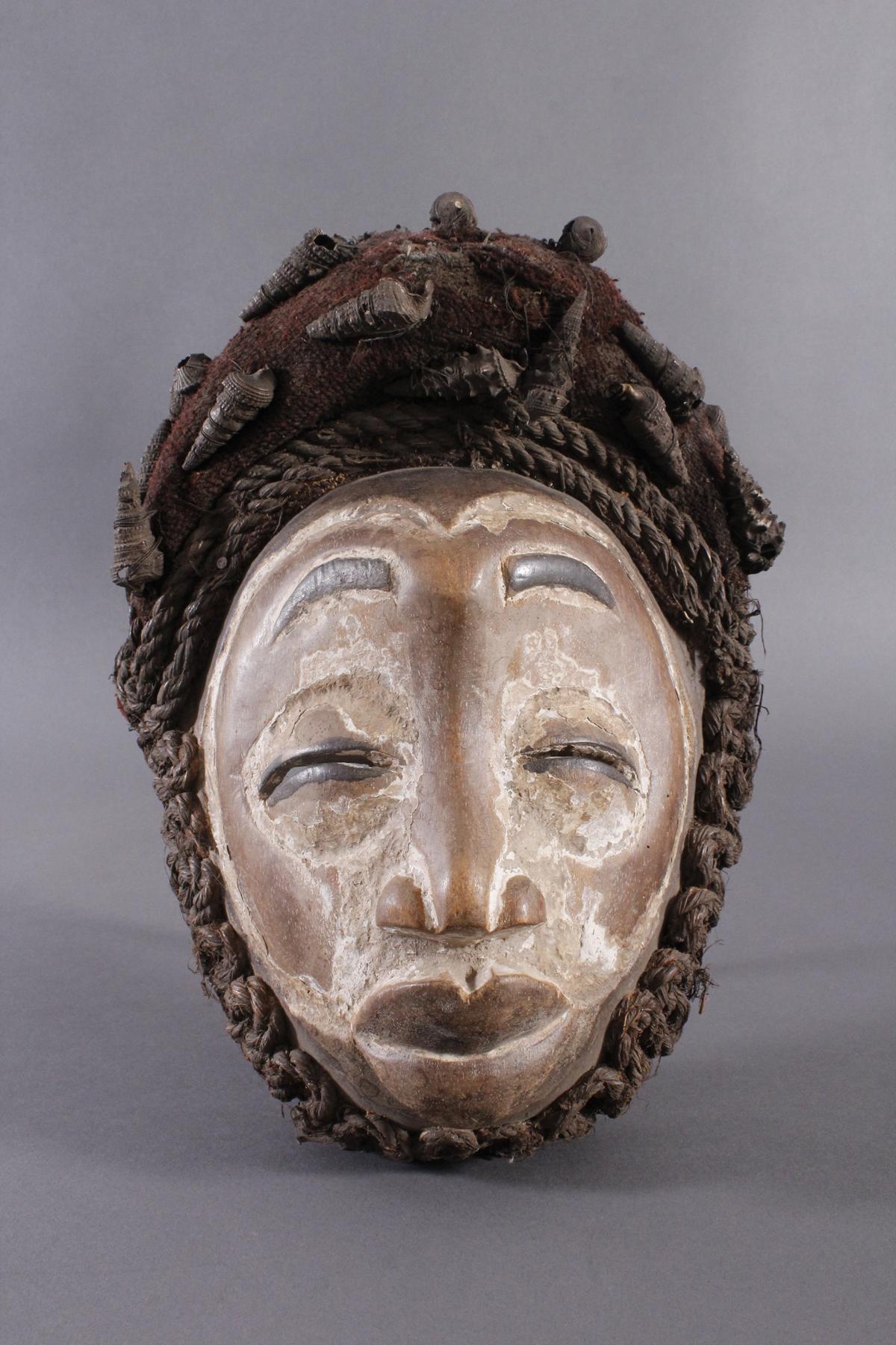 Antike Maske, Wobe/Bete, Elfenbeisküste 1. Hälfte 20. Jh.