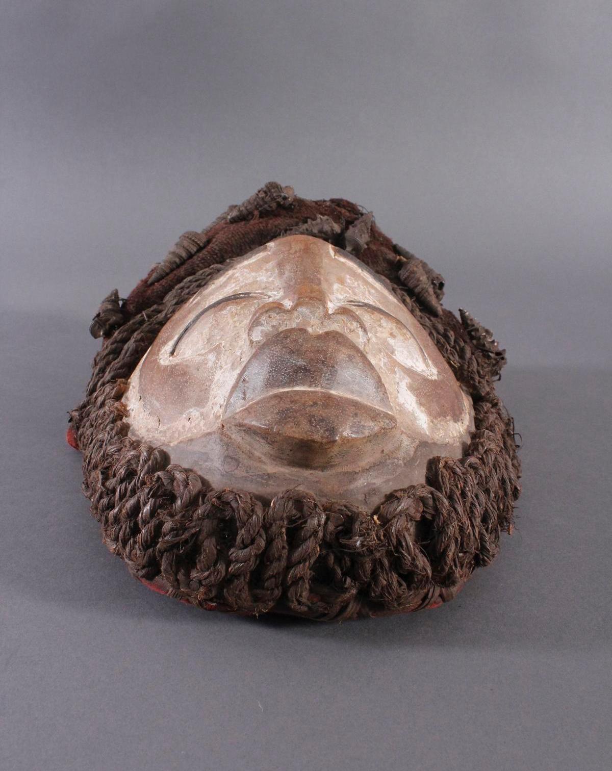 Antike Maske, Wobe/Bete, Elfenbeisküste 1. Hälfte 20. Jh.-2