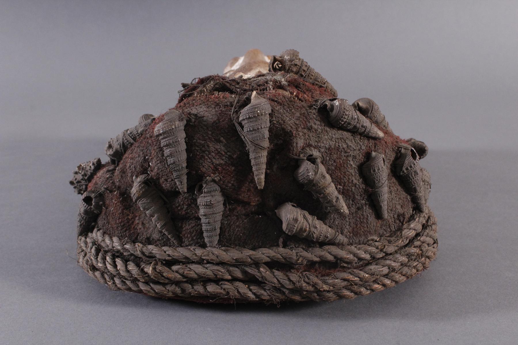 Antike Maske, Wobe/Bete, Elfenbeisküste 1. Hälfte 20. Jh.-4