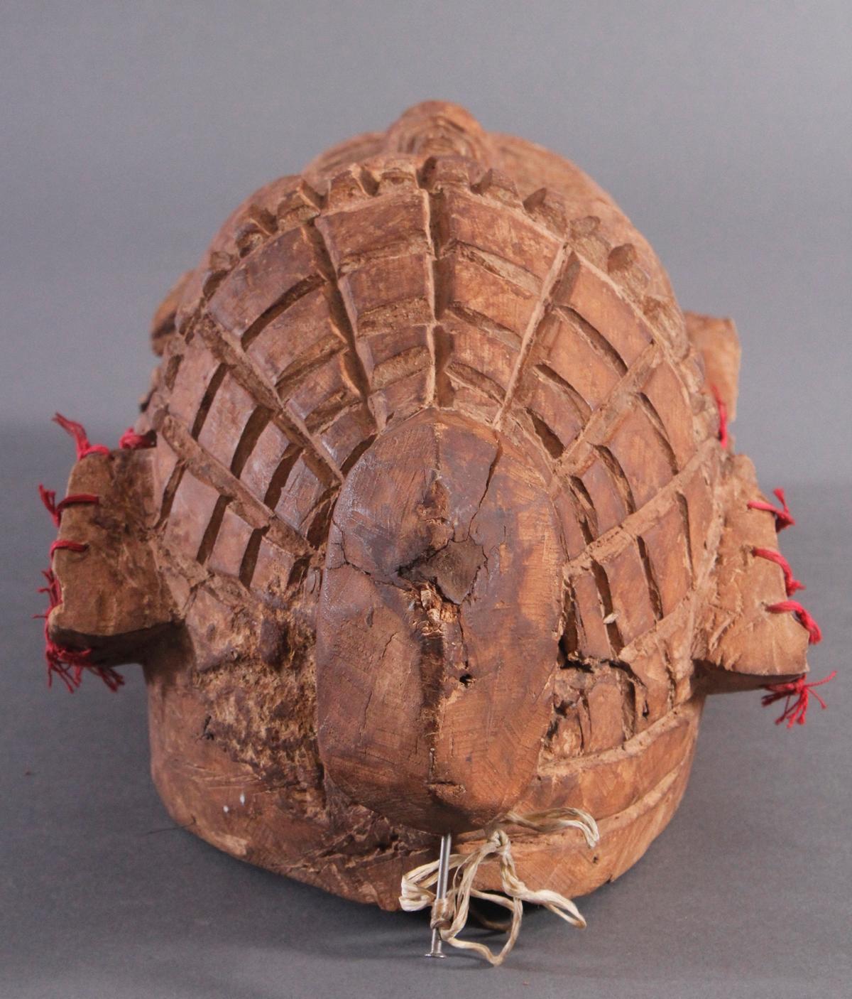 Antike Wandmaske, Mambila Kamerun 1. Hälfte 20. Jh.-4