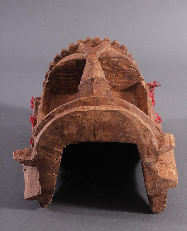Antike Wandmaske, Mambila Kamerun 1. Hälfte 20. Jh.-5
