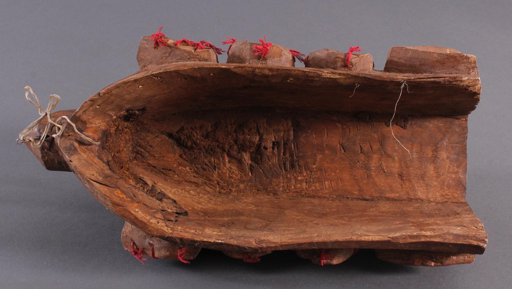 Antike Wandmaske, Mambila Kamerun 1. Hälfte 20. Jh.-6