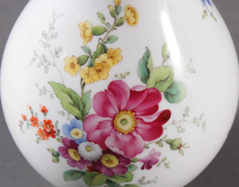 Vase, Höchster Porzellanmanufaktur, signiert Kurt Schröder (1927 – 2008)-2