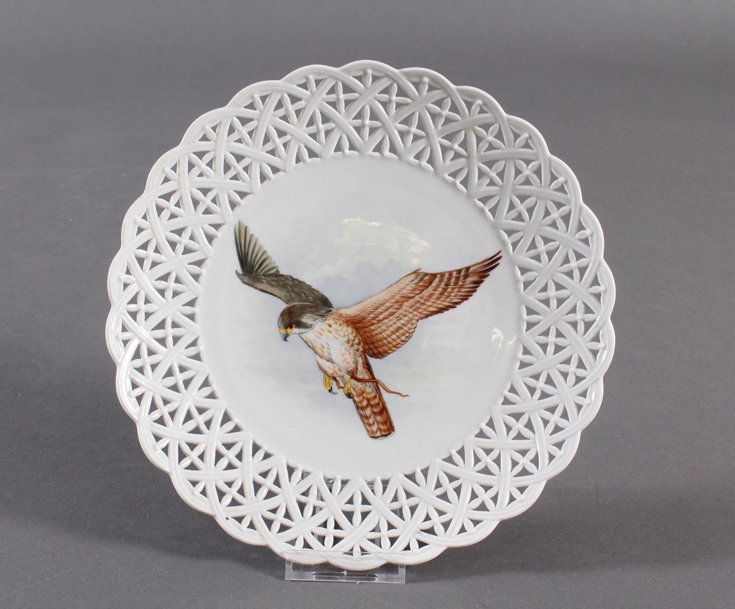 Zierteller, Höchster Porzellanmanufaktur