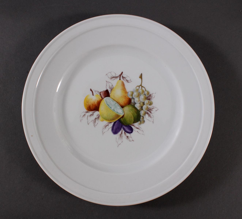 4 Teller, Höchster Porzellanmanufaktur-2