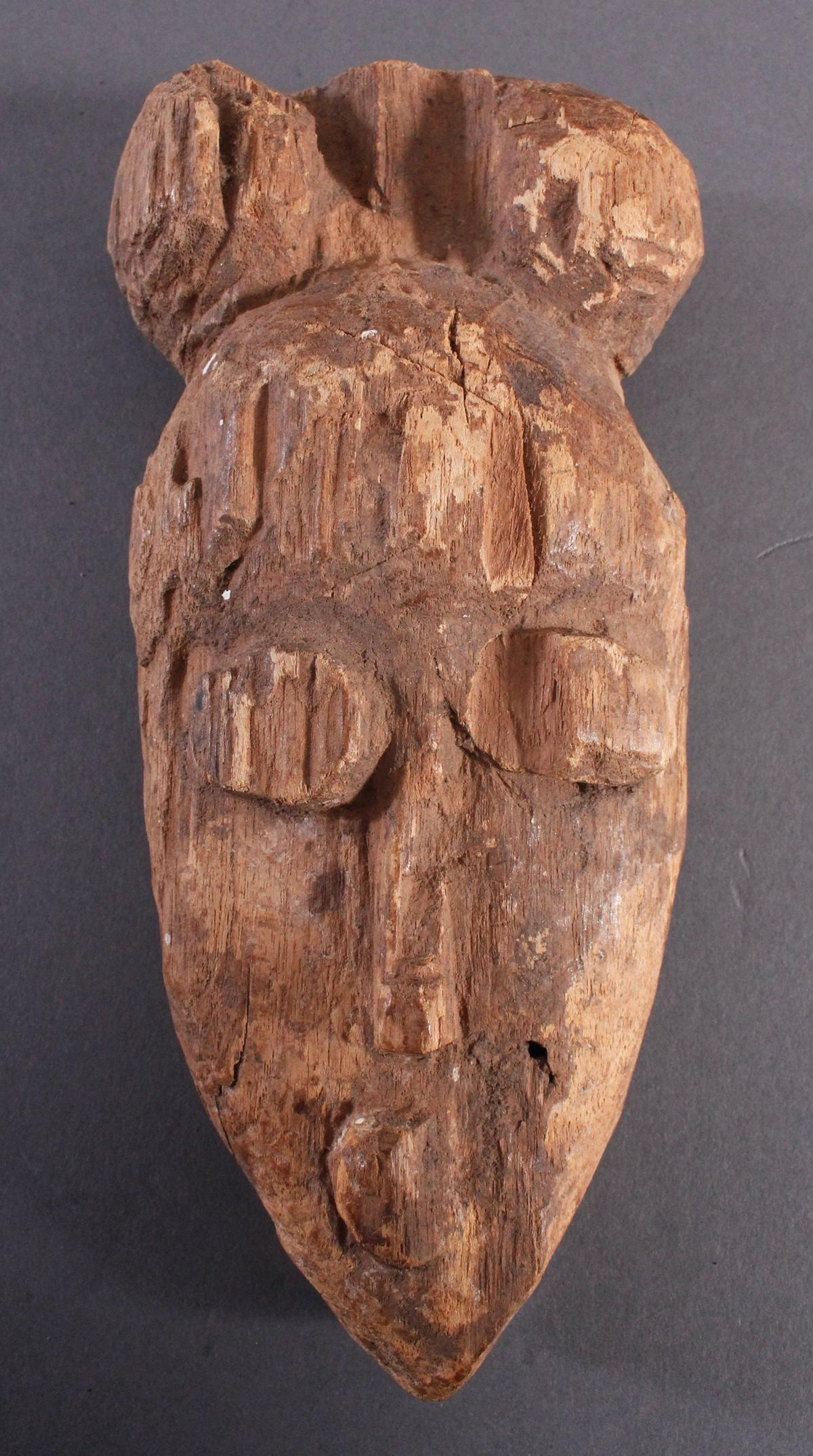 Antike Maske, Baule, Elfenbeinküste 1. Hälfte 20. Jh.