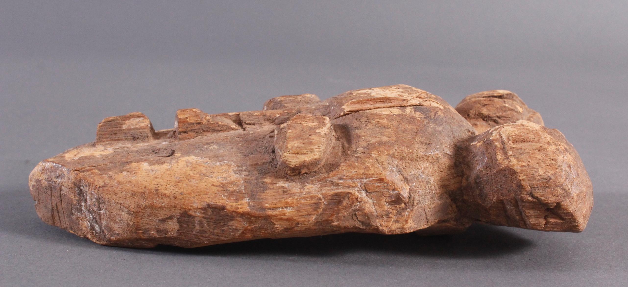 Antike Maske, Baule, Elfenbeinküste 1. Hälfte 20. Jh.-3