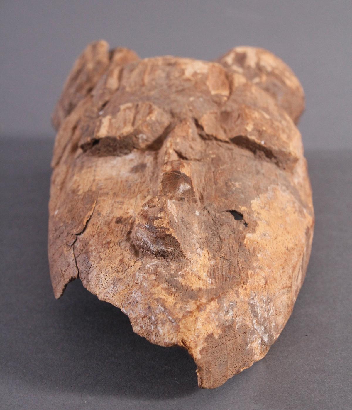 Antike Maske, Baule, Elfenbeinküste 1. Hälfte 20. Jh.-5
