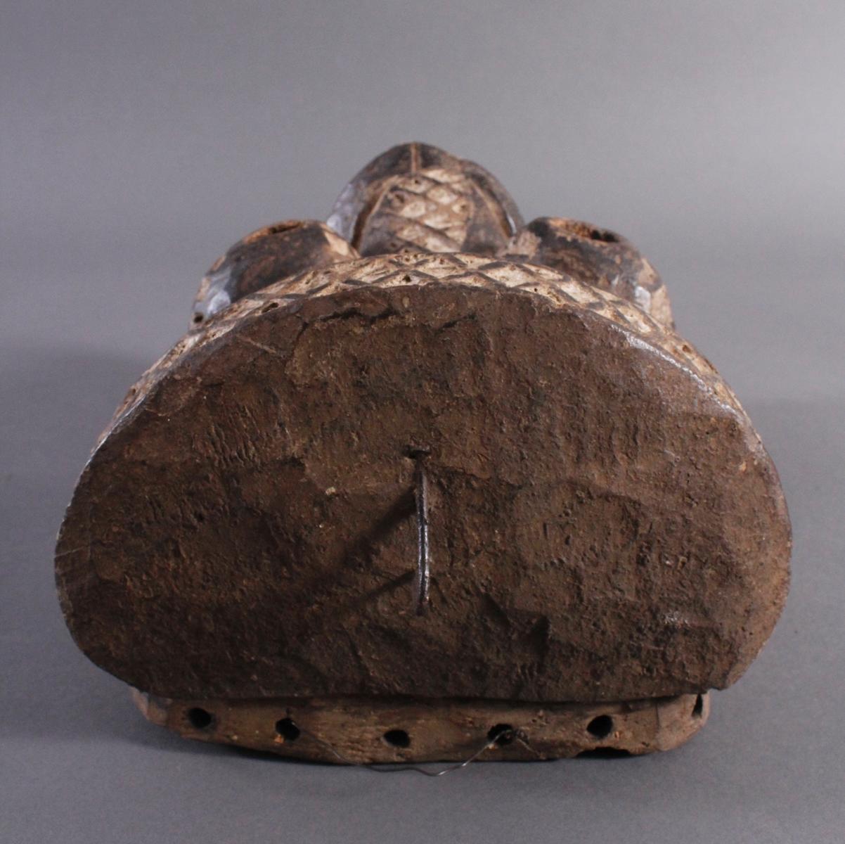Antike Maske, Yaure Elfenbeinküste 1. Hälfte 20. Jh.-4
