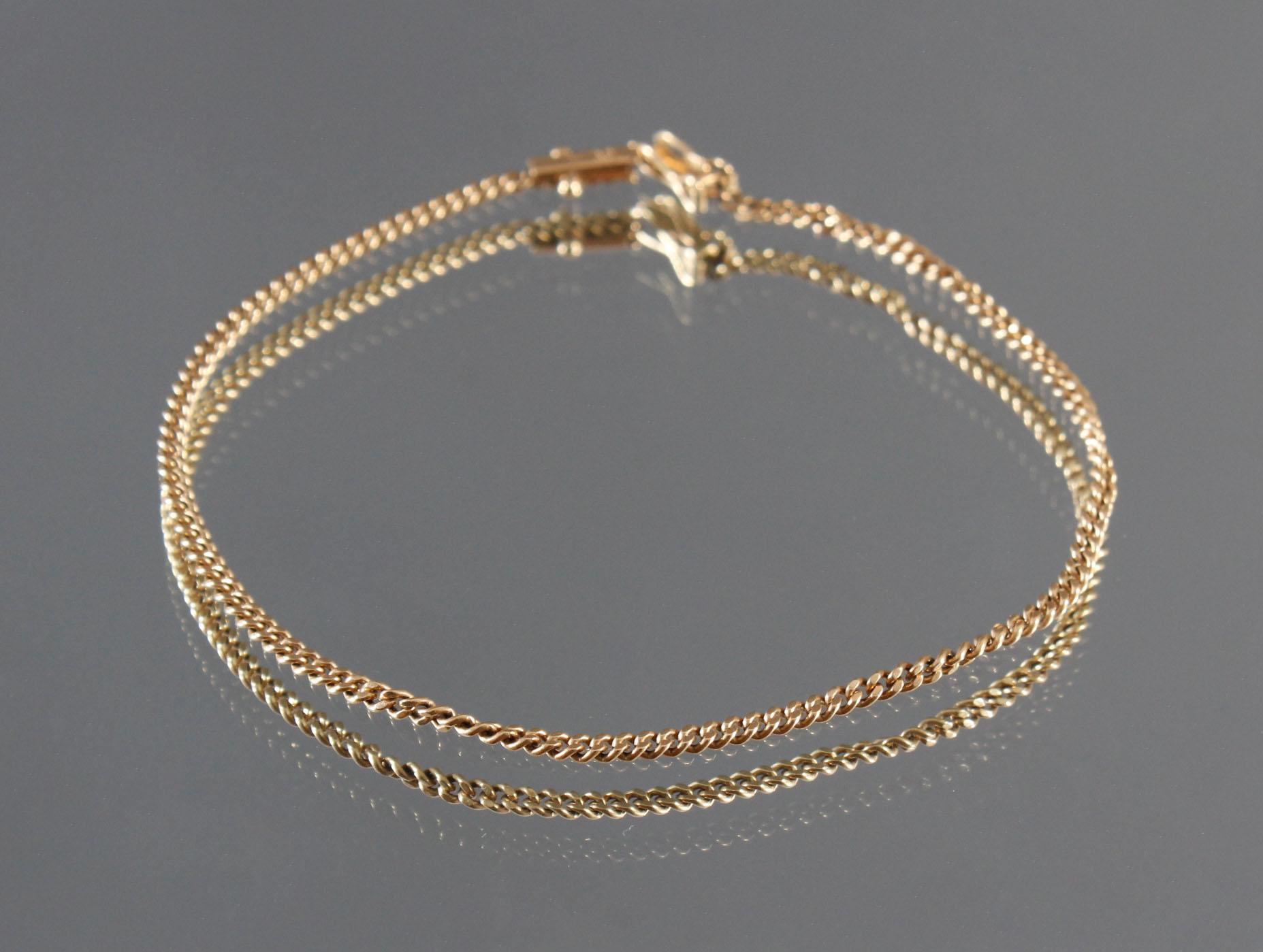 Damenarmband 18 Karat Gelbgold