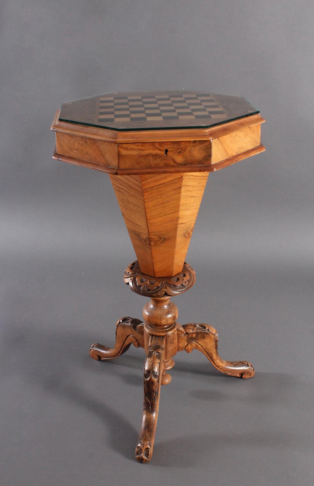 Schach-/Beistelltisch, 19. Jahrhundert