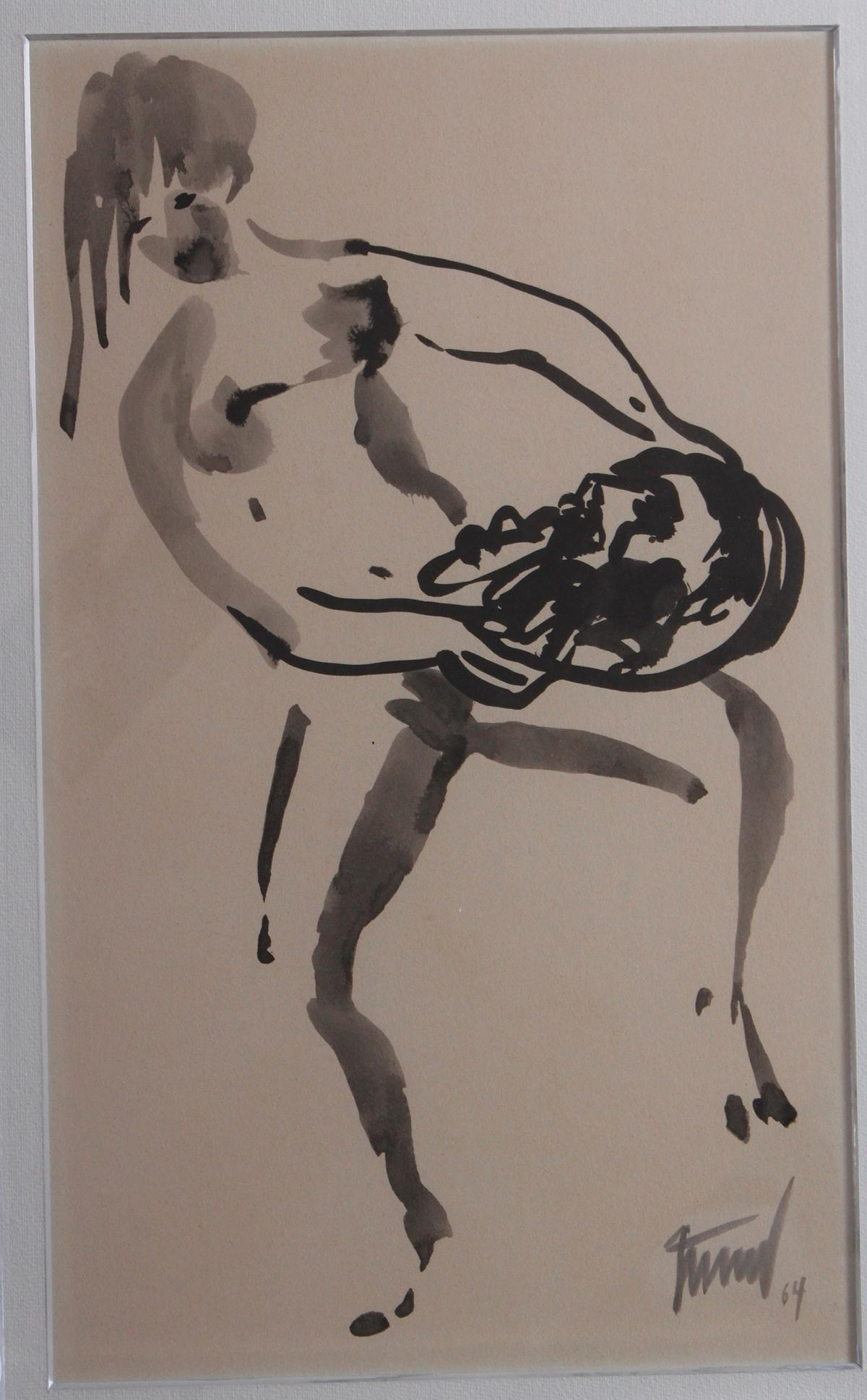 Georg Günther Zeuner (1923-2011). 'Tanz Salomes'-2