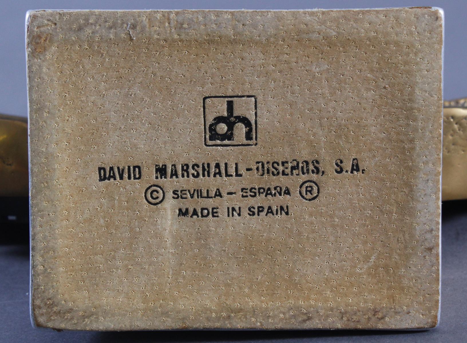 David Marshall (1942). Kaminuhr-5