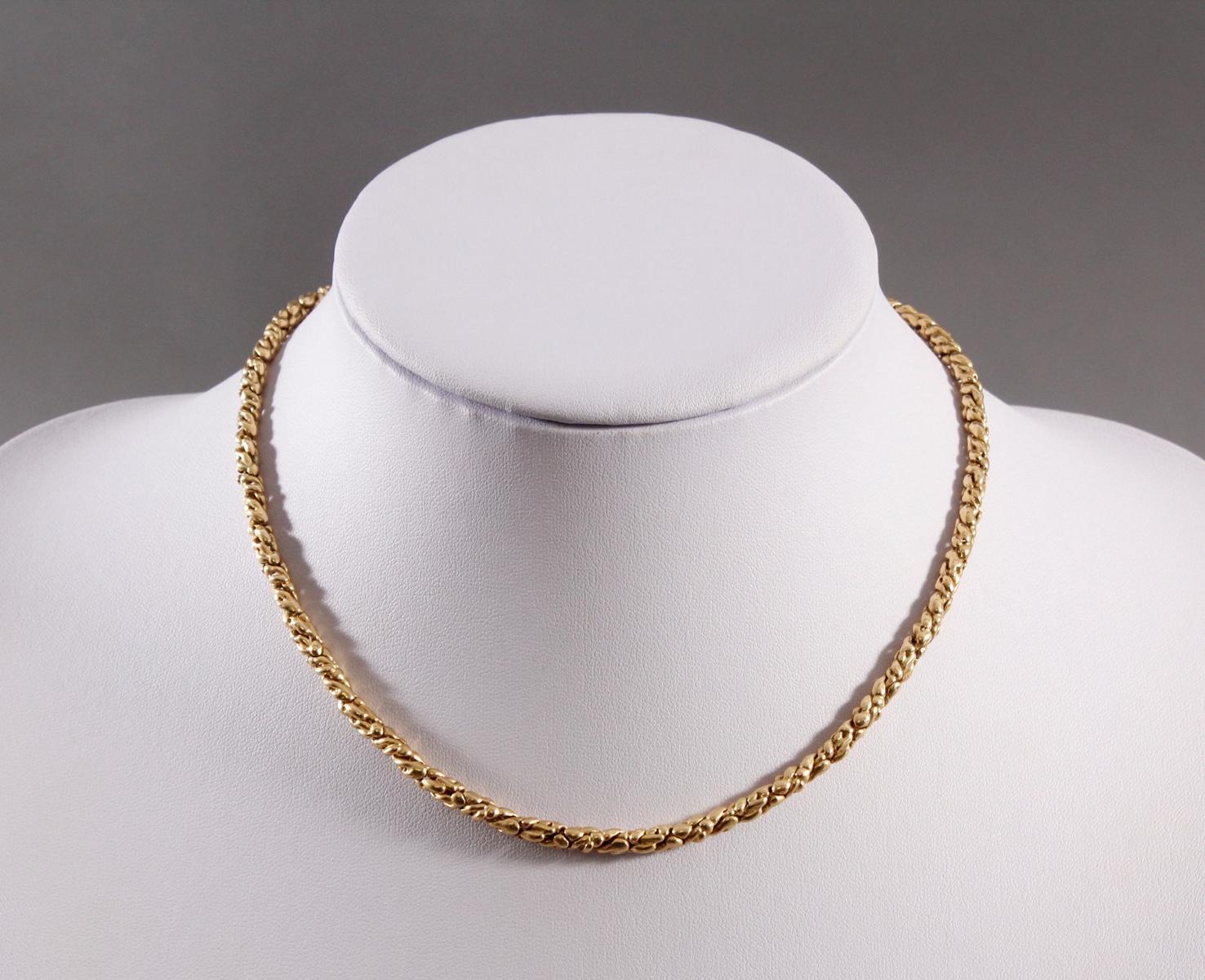 Königskette, 18 kt Gelbgold