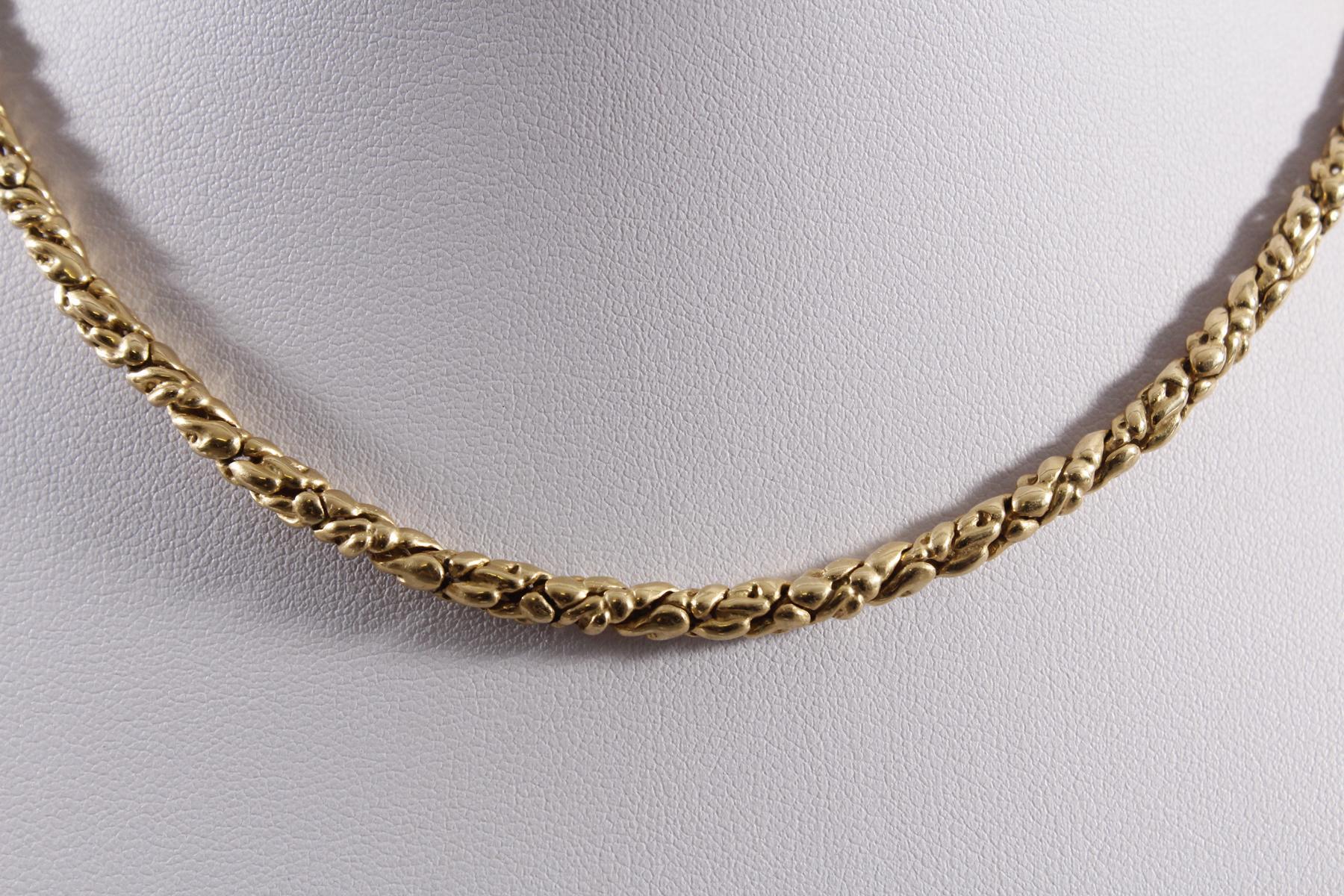 Königskette, 18 kt Gelbgold-2