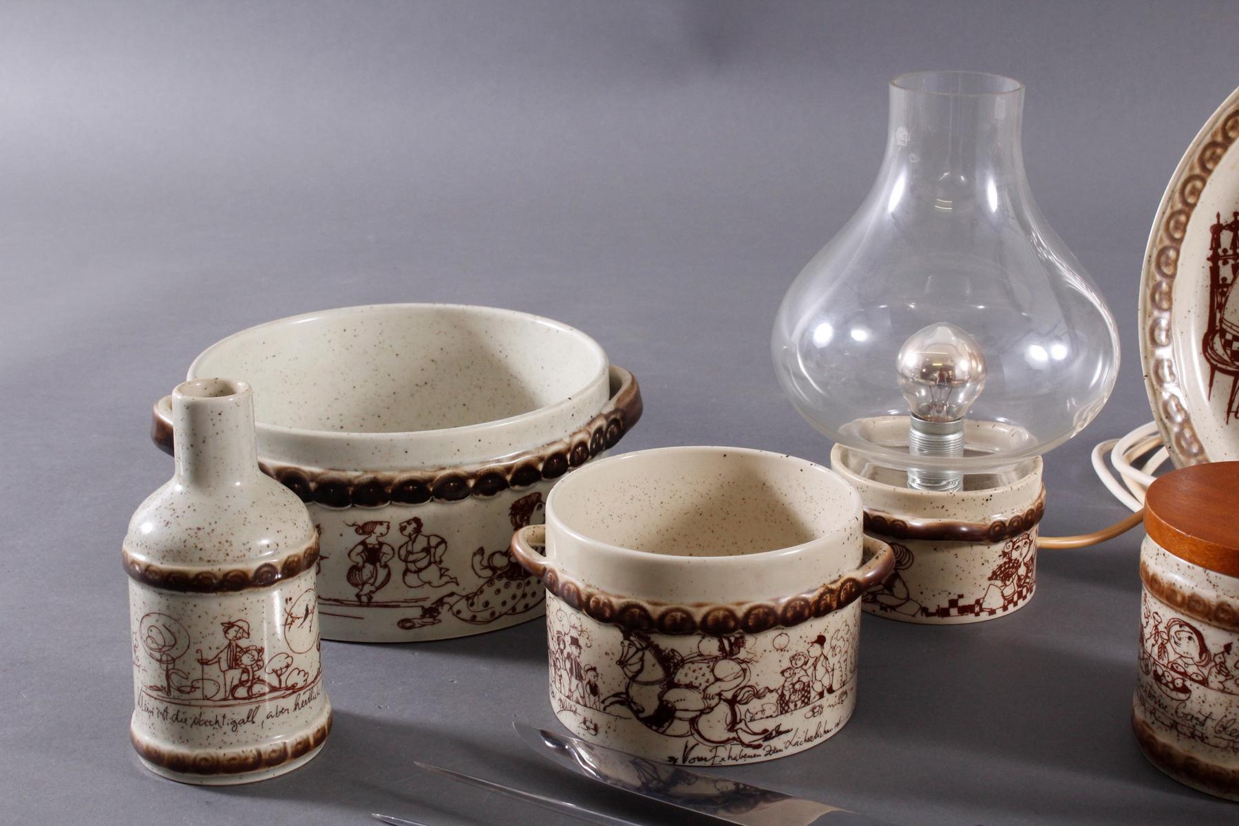 Rosenthal Studio Line Keramik-Teile und Vorlegebesteck-3