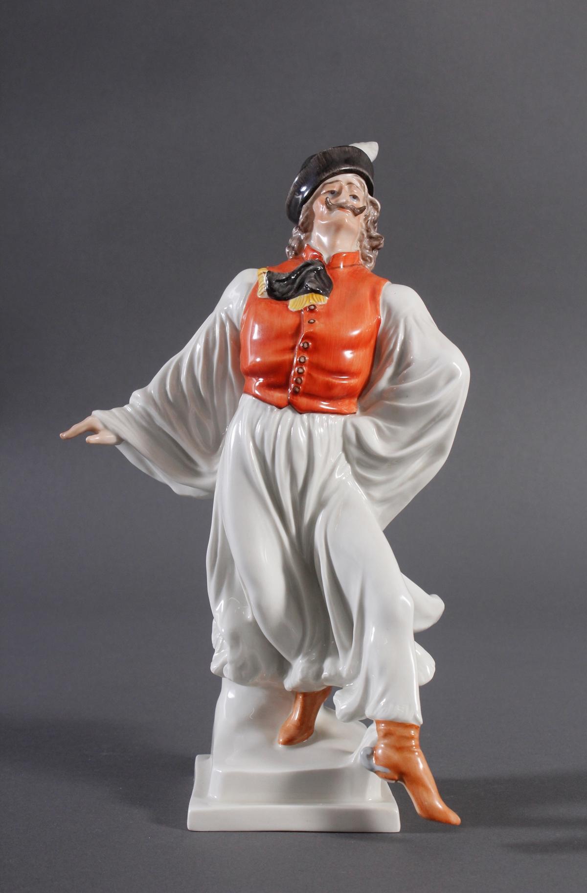 Herend-Figur, Ungarn, 'Ungarischer Tänzer in Tracht'
