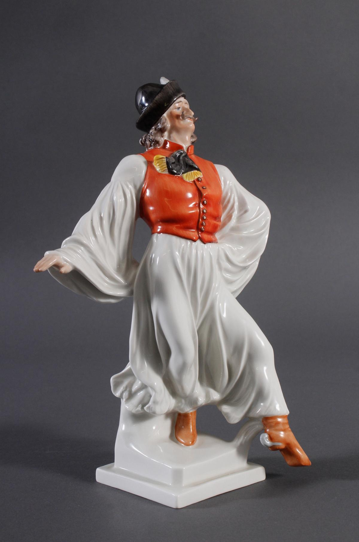 Herend-Figur, Ungarn, 'Ungarischer Tänzer in Tracht'-2