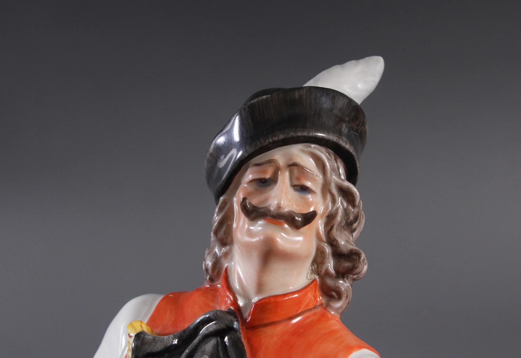 Herend-Figur, Ungarn, 'Ungarischer Tänzer in Tracht'-5