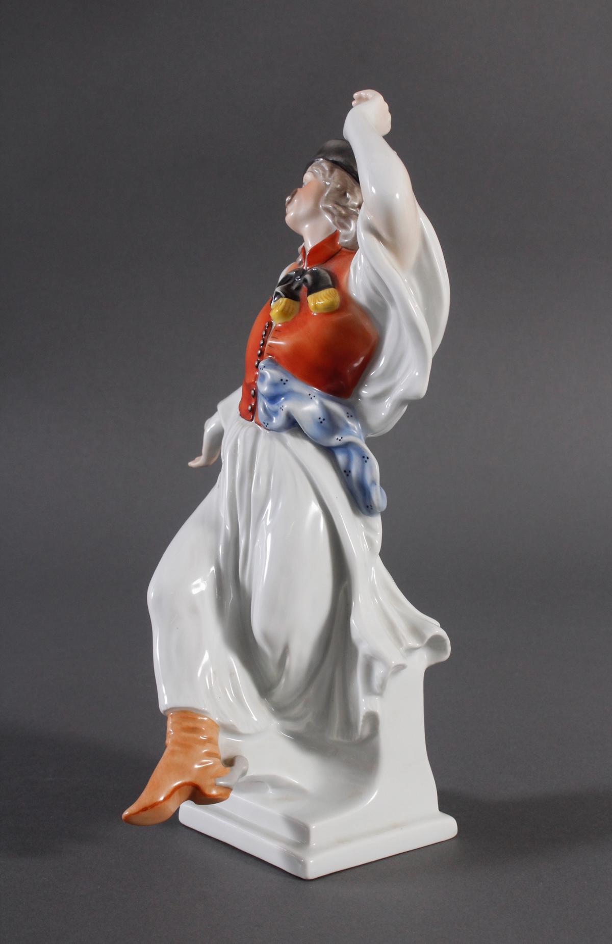 Herend-Figur, Ungarn, 'Ungarischer Tänzer in Tracht'-3