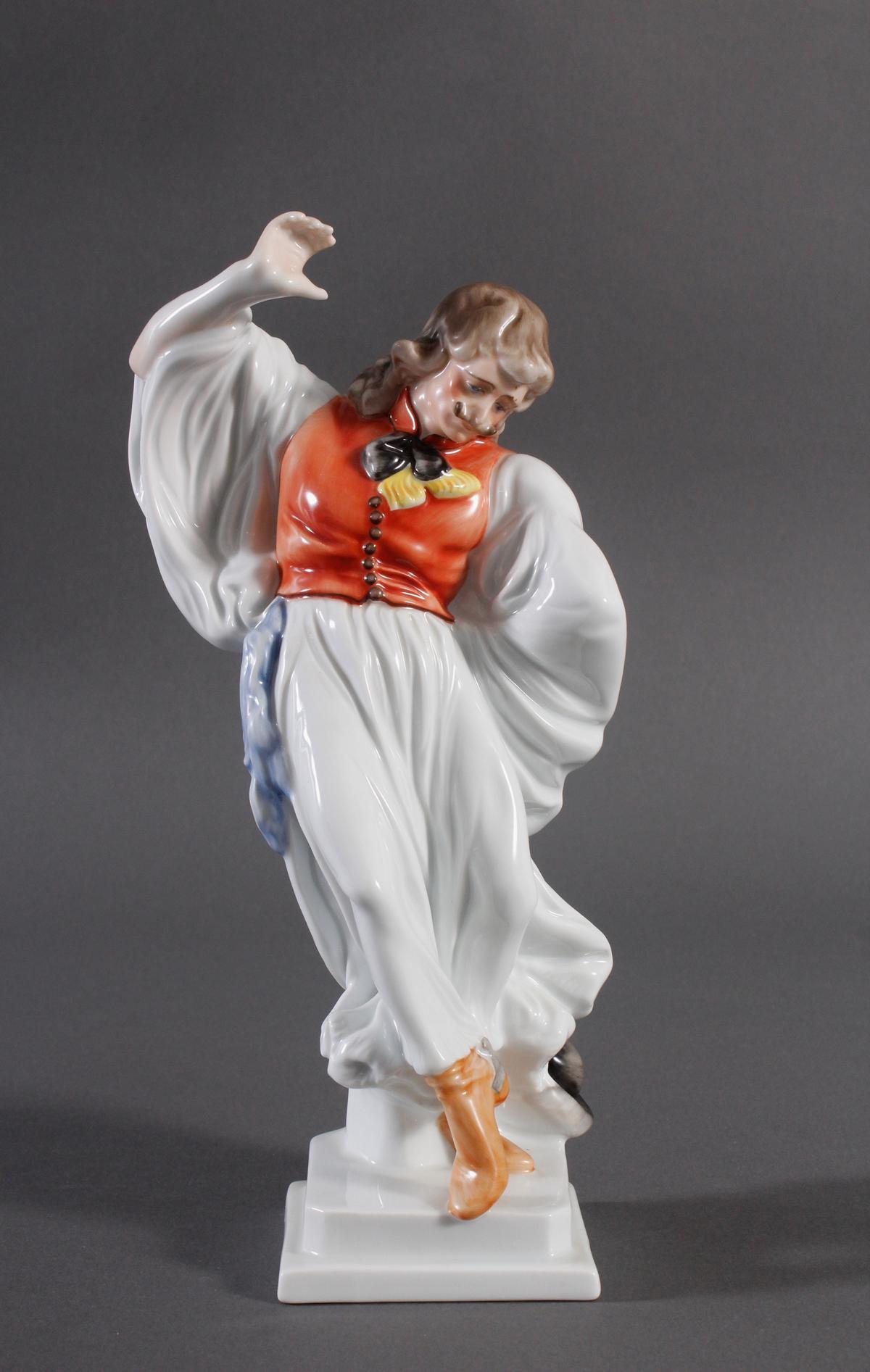 Herend-Figur, Ungarn 'Ungarischer Tänzer in Tracht'