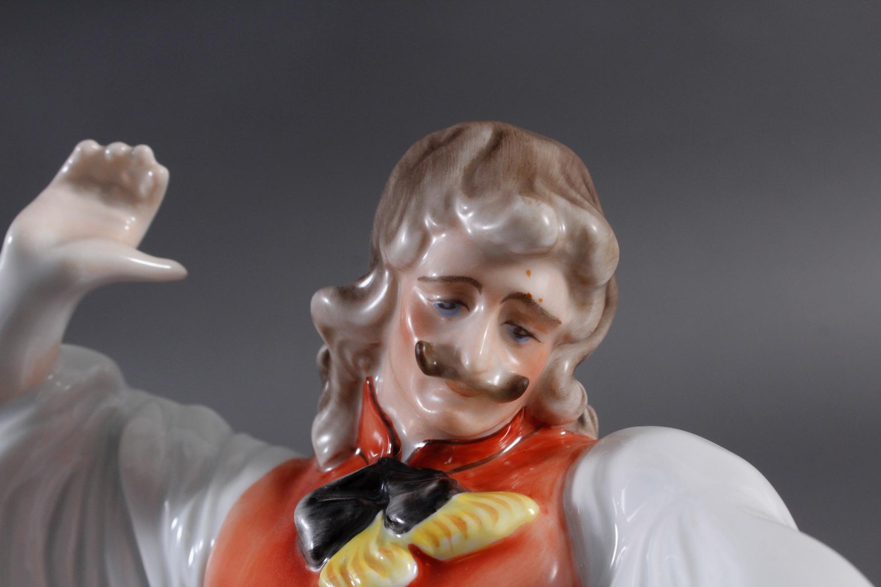 Herend-Figur, Ungarn 'Ungarischer Tänzer in Tracht'-5