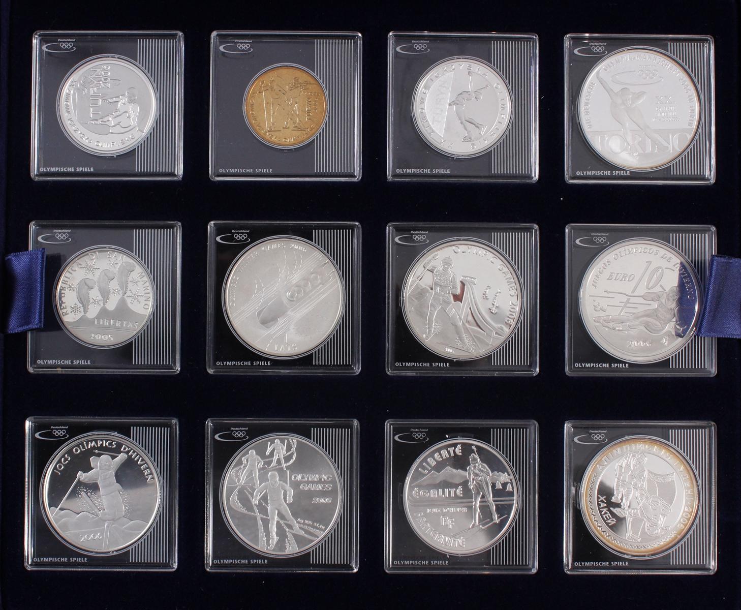 Die Silbergedenkmünzen zu den Olympischen Spielen-2