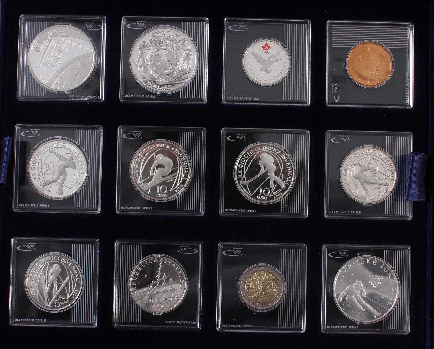 Die Silbergedenkmünzen zu den Olympischen Spielen-3