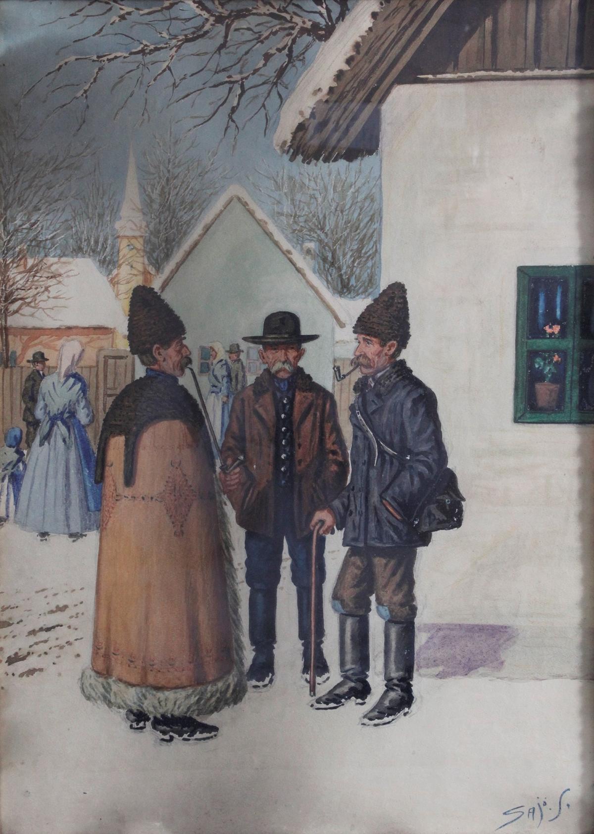 Sándor Falvi-Sajò, ungarischer Künstler-2