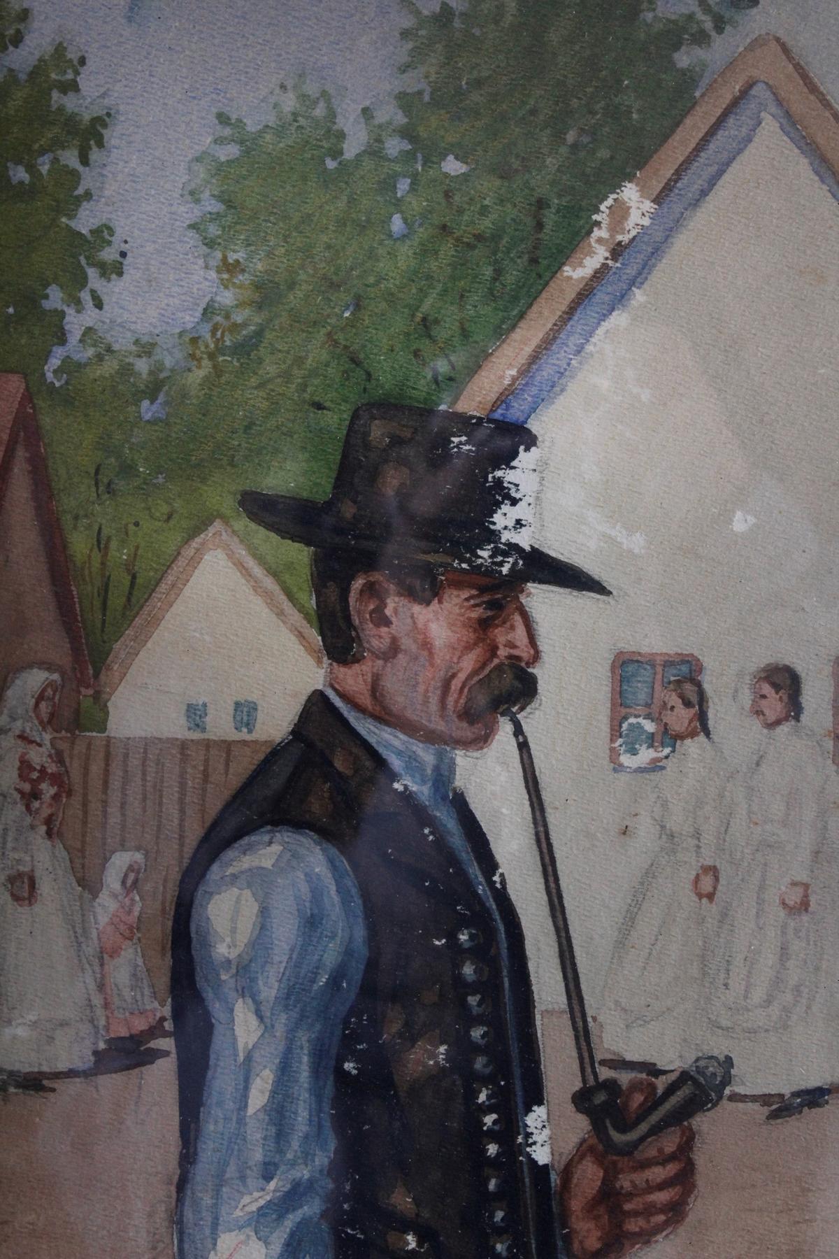 Sándor Falvi-Sajò, ungarischer Künstler-3