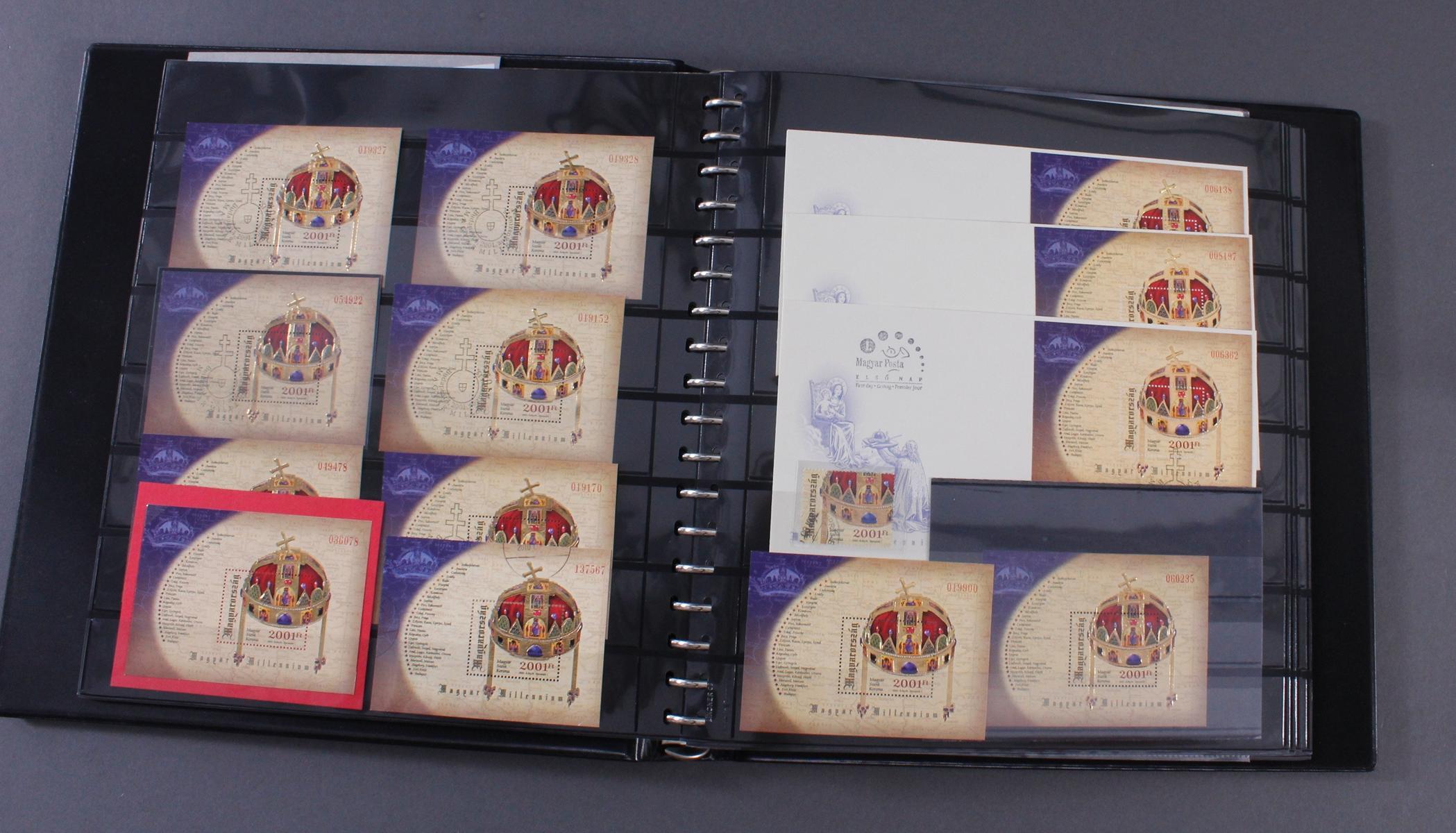 Kleine Sammlung Ungarn/ Ungarische Blocks-2