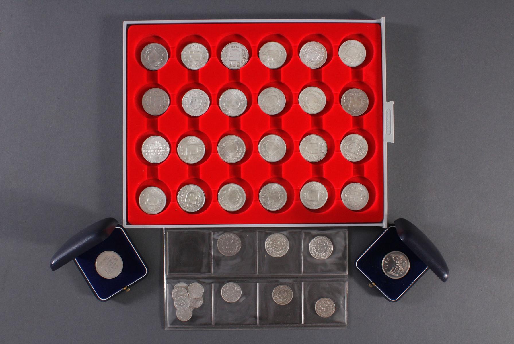 Schweizer Franken Münzen