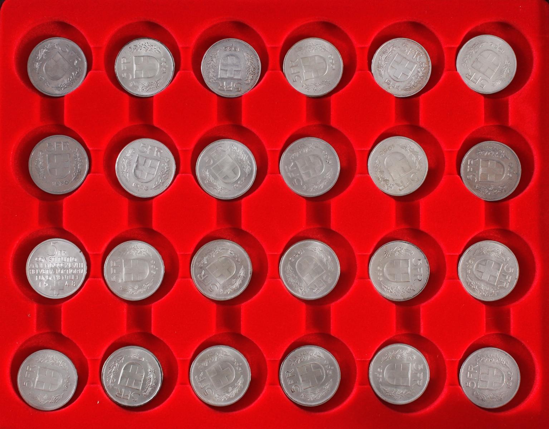 Schweizer Franken Münzen-2