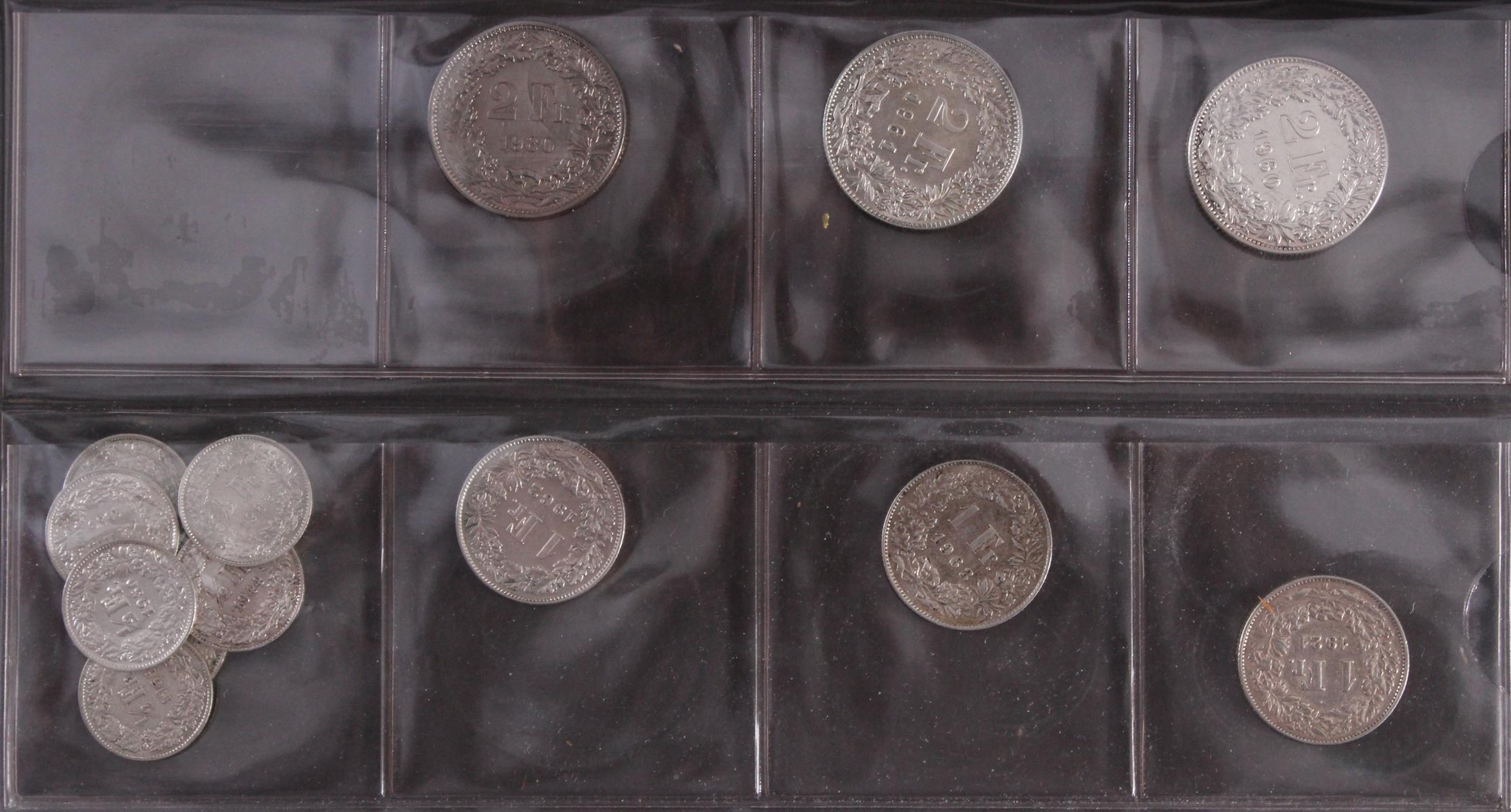 Schweizer Franken Münzen-3