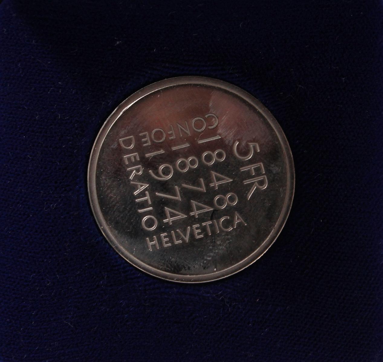 Schweizer Franken Münzen-4