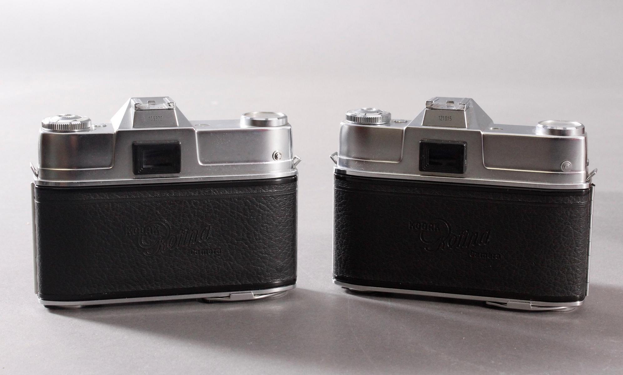Zwei Fotoapparate/Kameras, Kodak-3